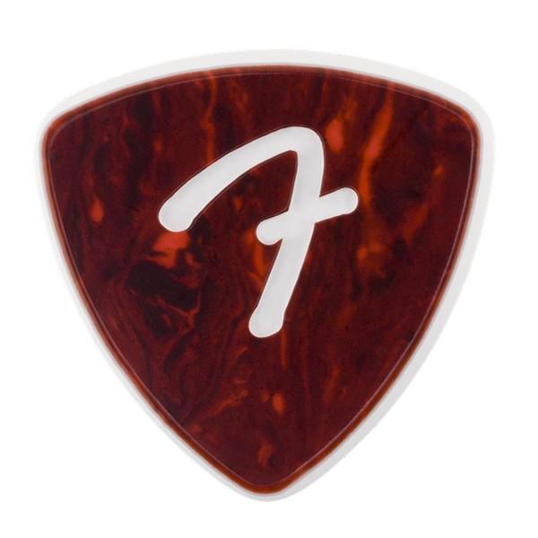 Fender F Grip 346 Picks 3-Pack, Shell - Front