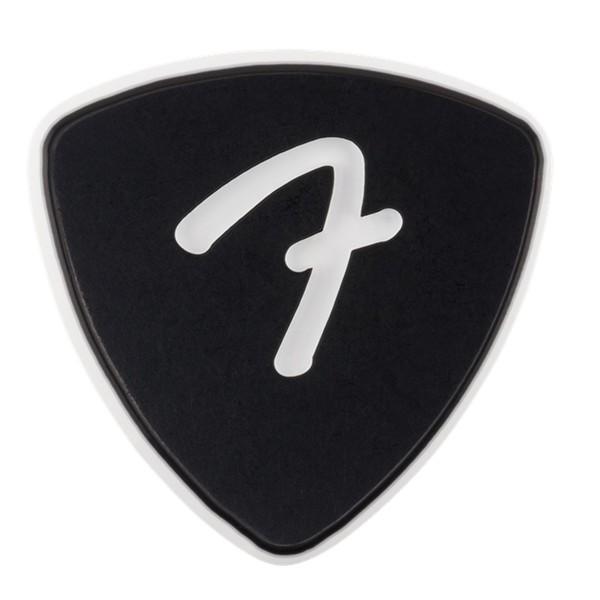 Fender F Grip 346 Picks 3-Pack, Black - Front