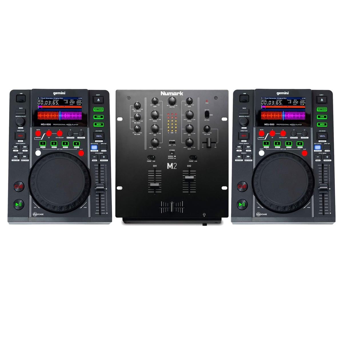 Mutta Kanaal Songs Mp3: Gemini MDJ-500 And Numark M2 Bundle