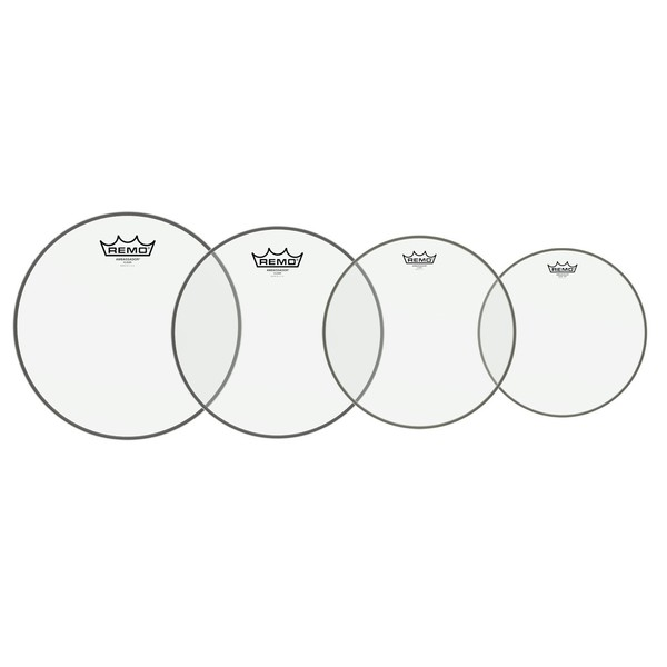 Remo Resonant Drumhead Pack Rock Sizes