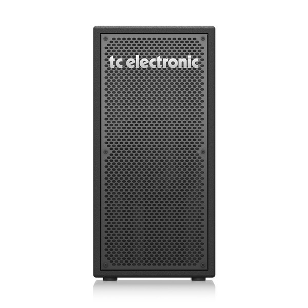 "TC Electronic BC208 Vertical 200W 2 x 8"" Portable Bass Cabinet, 8 Ohm, Front"