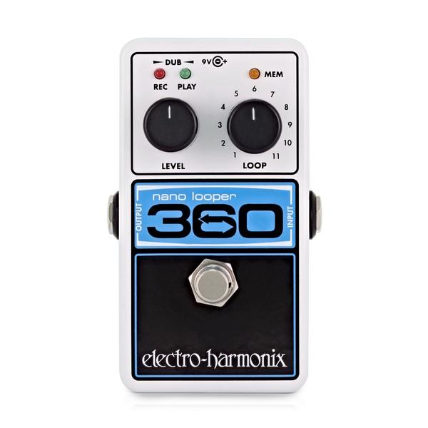 Electro Harmonix Nano Looper 360 - Front View