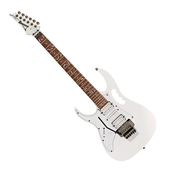 Ibanez JEMJRL Junior Steve Vai Left Handed, White main