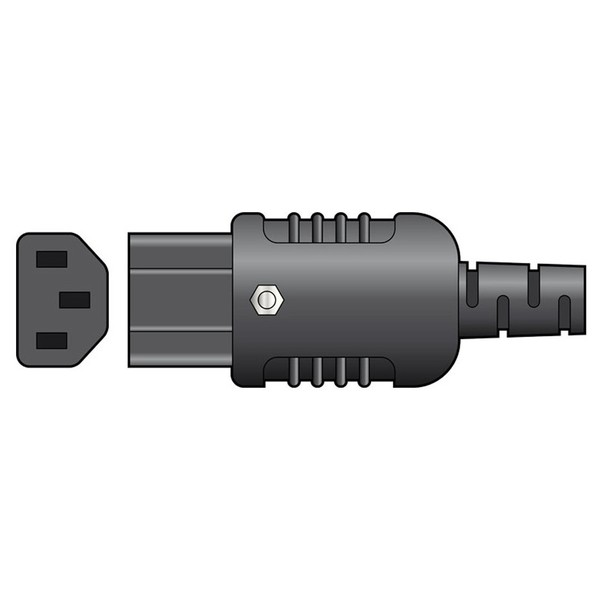 Heavy Duty In-line IEC Connector