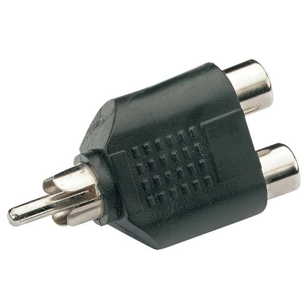 RCA Phono Male/2xRCA Phono Female Adaptor