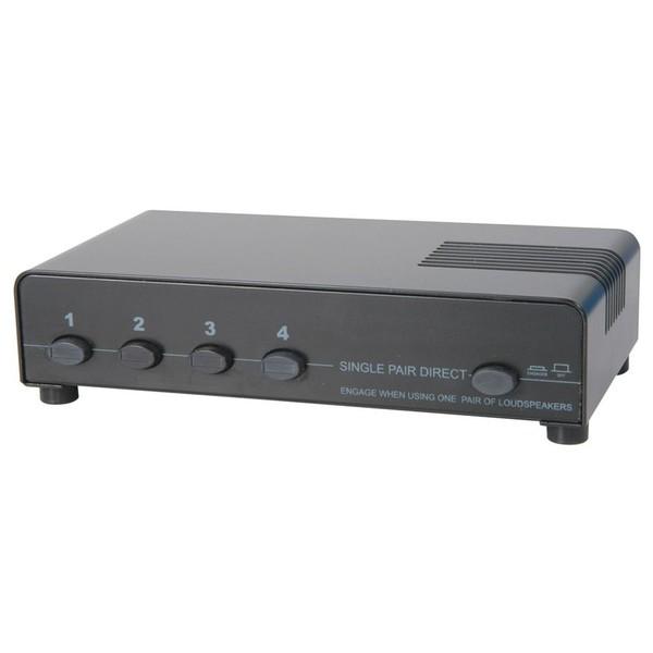 4 Way Protected loudspeaker switcher