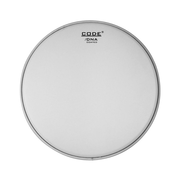 """Code DNA 13/"""" Coated Single Ply Snare Drum Batter Head Pack//Set Wires"""