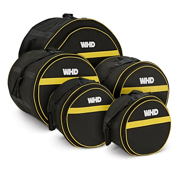 WHD Padded Rock Drum Bag Set