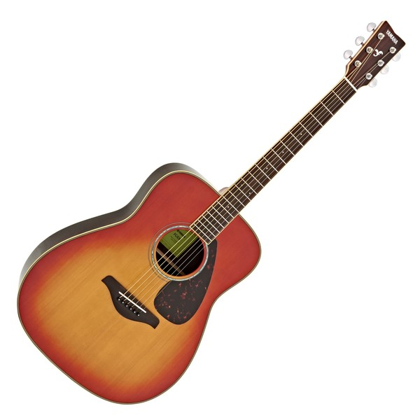 Yamaha FG830 Acoustic Guitar, Autumn Burst main