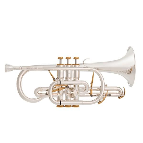 Besson Prestige BE2028 Cornet, Silver Plated main