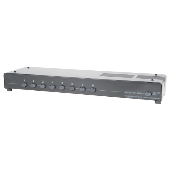 8-way loudspeaker selector