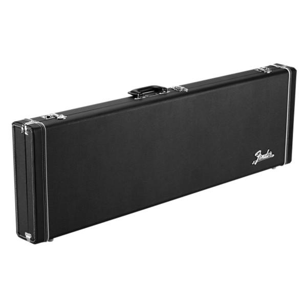 Fender Classic Series Wood Precision/Jazz Bass Case, Black