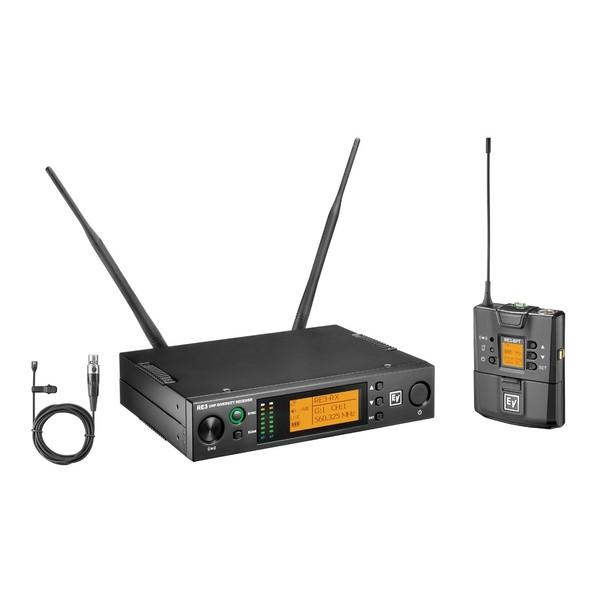 Electro-Voice RE3-BPOL Single Lavalier Wireless Mic Set, Band 8M