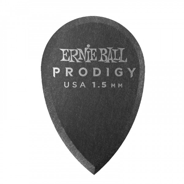 Ernie Ball Prodigy Teardrop 1.5mm, 6 Pack - Front