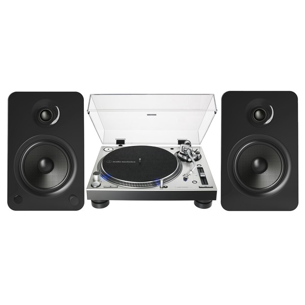 Audio Technica AT-LP140XP with Kanto YU6 Speakers
