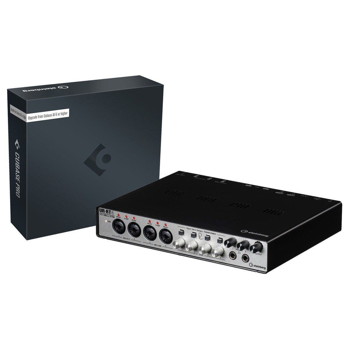 Steinberg UR-RT4 USB Audio Interface with Upgrade to Cubase Pro 10