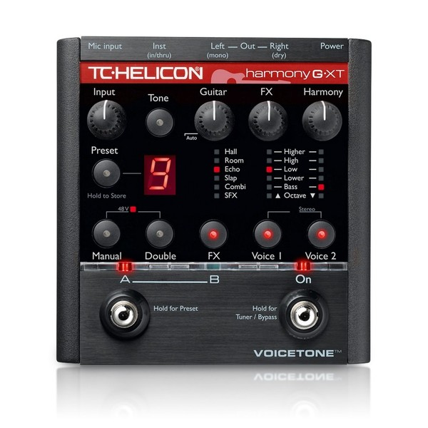 TC Helicon VoiceTone Harmony-G XT Vocal/Guitar Processor main
