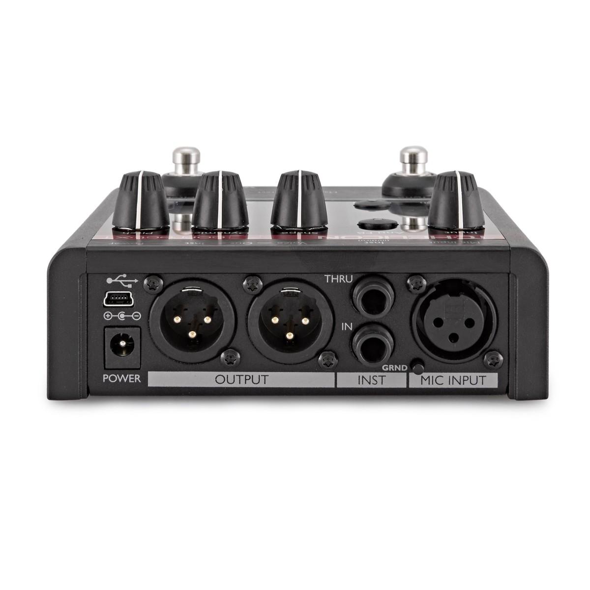 tc helicon voicetone correct xt vocal processor at gear4music. Black Bedroom Furniture Sets. Home Design Ideas