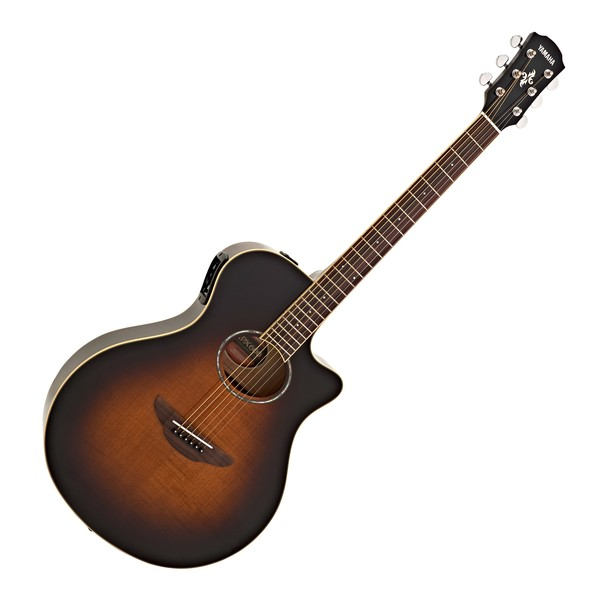 Yamaha APX600FM Electro Acoustic, Tobacco Brown Sunburst main