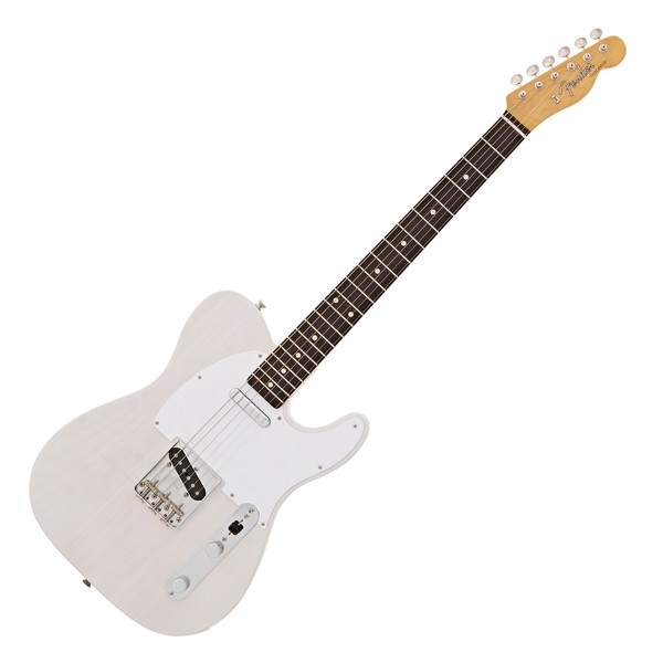 Fender Jimmy Page Mirror Telecaster RW, White Blonde main
