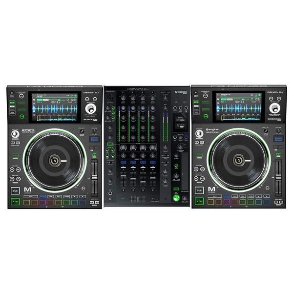 Denon DJ Prime Series SC5000M and X1800 Bundle