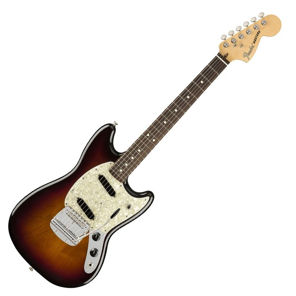 Fender American Performer Mustang, 3-Color Sunburst - Main