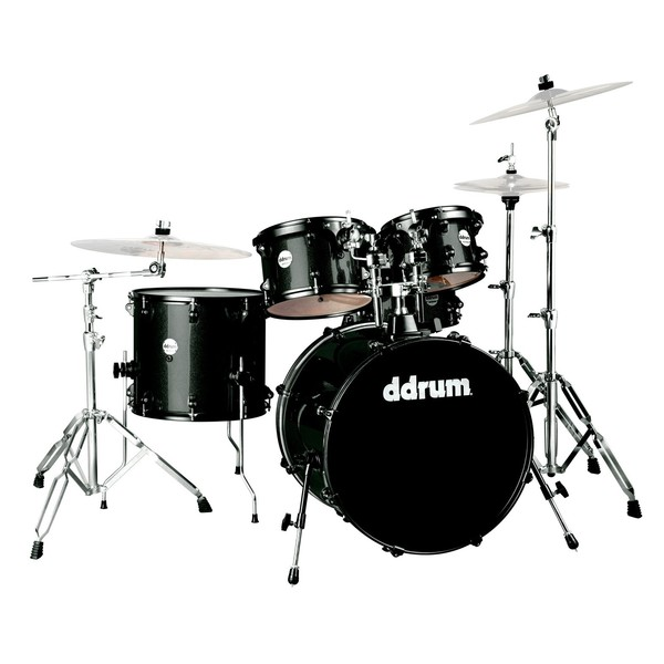 DDrum Journeyman Player 5pc Drum Kit, Black Sparkle
