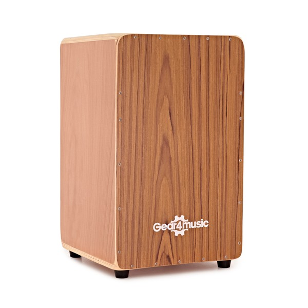 Cajon by Gear4music, Teak