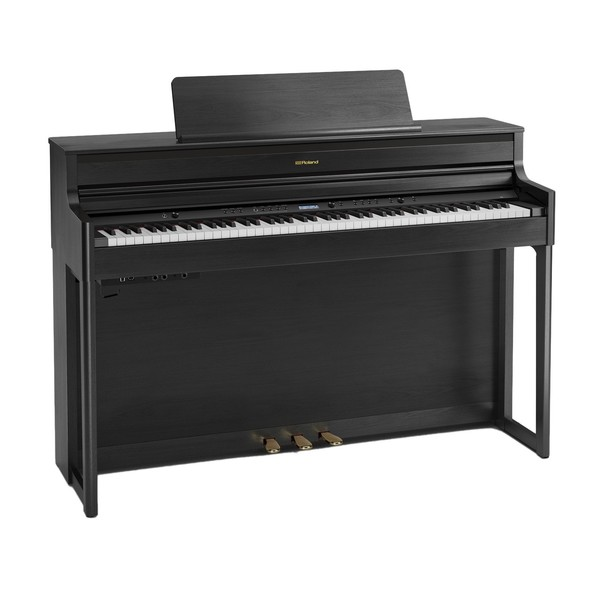 Roland HP704 Digital Piano, Charcoal Black