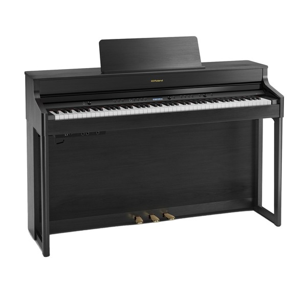 Roland HP702 Digital Piano, Charcoal Black
