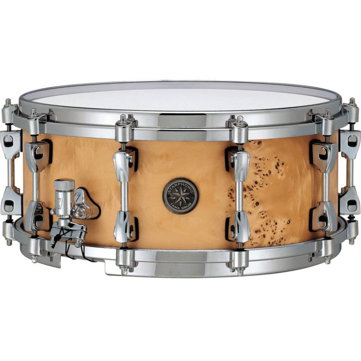 tama starphonic 14 39 39 x 6 39 39 pmm146 stm snare drum maple b stock at gear4music. Black Bedroom Furniture Sets. Home Design Ideas