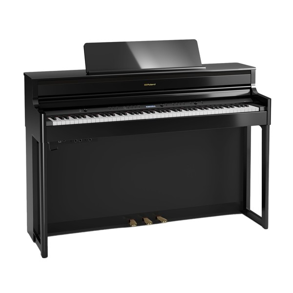 Roland HP704 Digital Piano, Polished Ebony