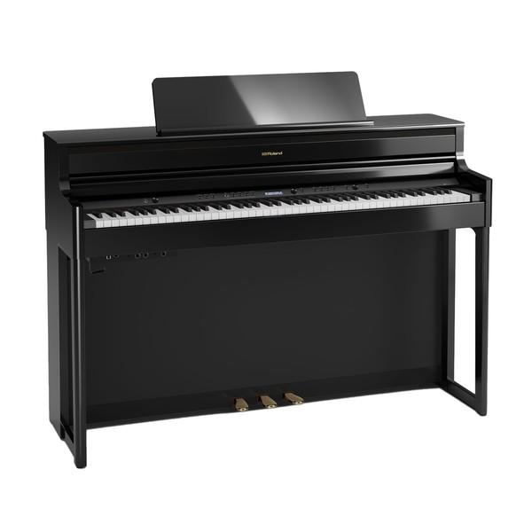 Roland HP704 Digital Piano, Polished Ebony