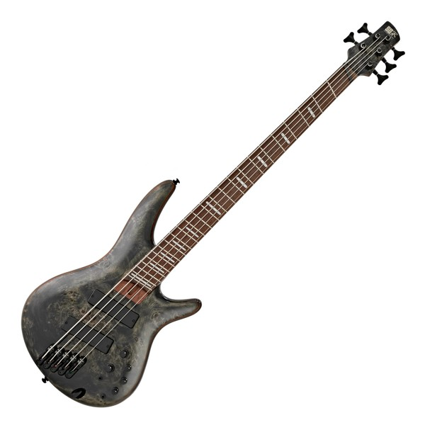 Ibanez SRMS805 Multi Scale 5 String Bass, Deep Twilight