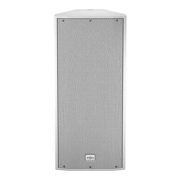 HH Electronics Tessen TNi-2081A 2 x 8'' Active Speaker, White, Front