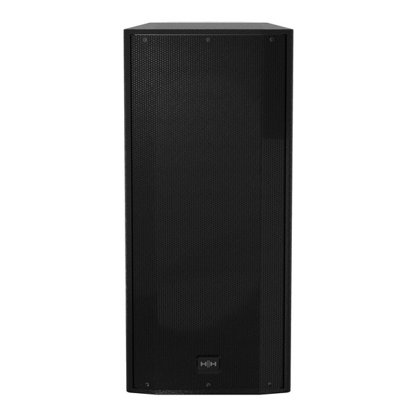 HH Electronics Tessen TNi-2081A-B 2 x 8'' Active Speaker, Black, Front