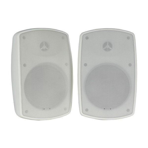 Adastra BH5 5.25'' IP44 Background Speakers, White, Front