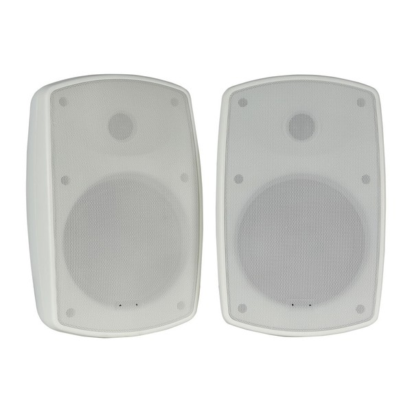 Adastra BH6 6.5'' IP44 Background Speakers, White, Front