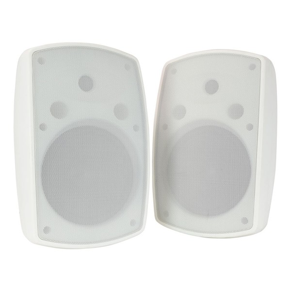 Adastra BH8 8'' IP44 Background Speakers, White, Front