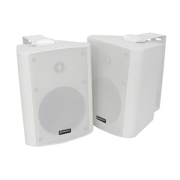 Adastra BC5W 5.25'' Stereo Background Speakers, White