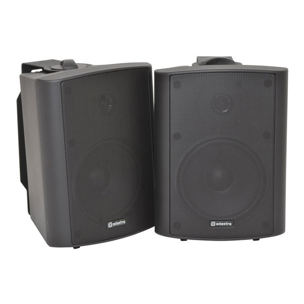Adastra BC5B 5.25'' Stereo Background Speakers, Black