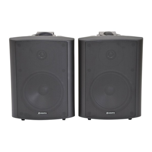 Adastra BC6B 6.5'' Stereo Background Speakers, Black, Front