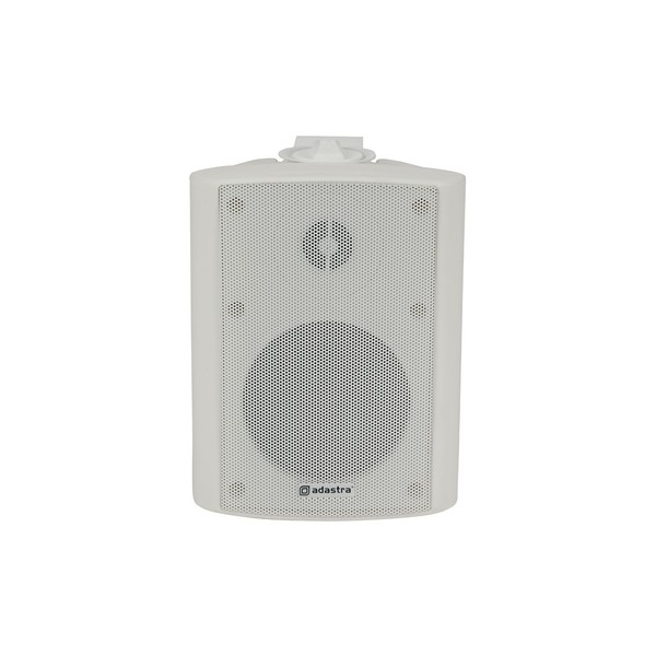 Adastra BP4V-W 4'' 100V Weatherproof Background Speaker, White, Front