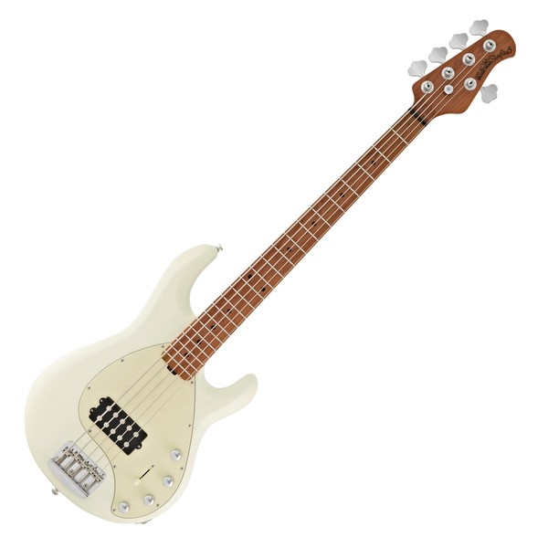 Music Man StingRay5 Special Bass MN, Ivory White