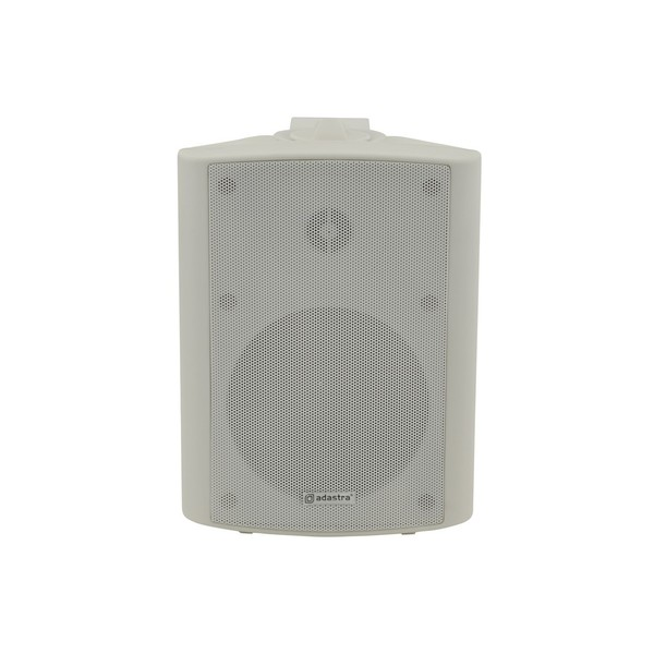 Adastra BP5V-W 5.25'' 100V Weatherproof Background Speaker, White, Front