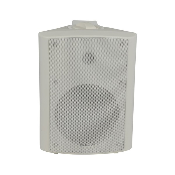Adastra BP6V-W 6.5'' 100V Weatherproof Background Speaker, White, Front