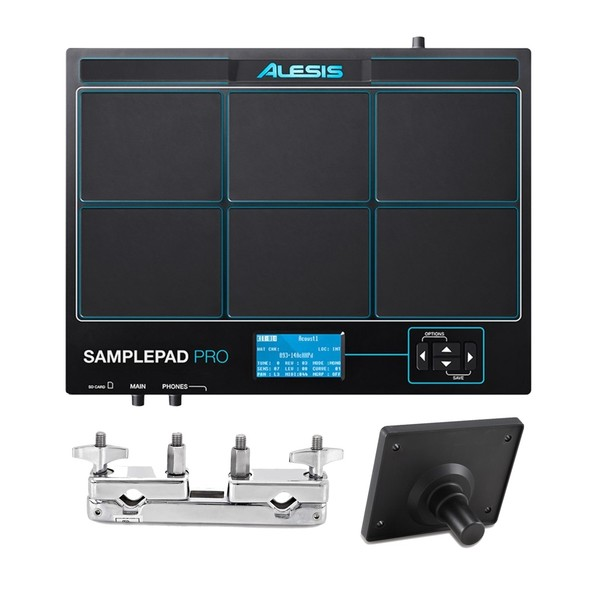 Alesis SamplePad Pro with Module Mount and Multi-Clamp - Main Image