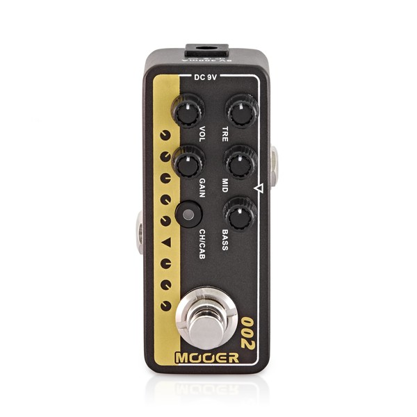 Mooer Micro Preamp 02 UK Gold 900 Pedal