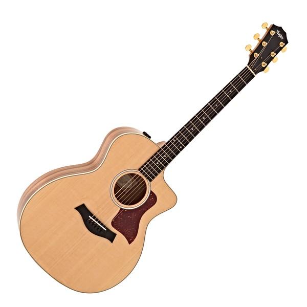 Taylor 214ce-K DLX Grand Auditorium Electro Acoustic, Koa main
