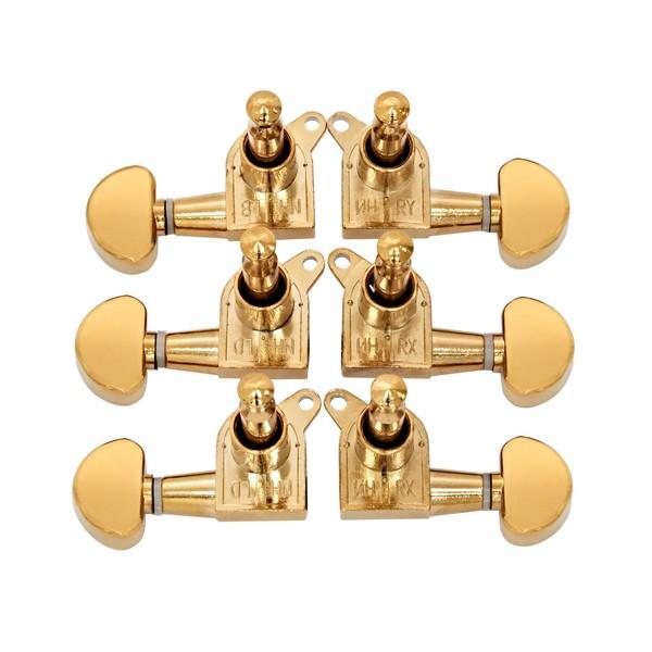 Guitarworks Sealed Guitar Machine Head, Gold
